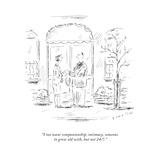 New Yorker Cartoon Premium Giclee Print by Barbara Smaller