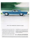 Lincoln 1962 Odometer Knows… Poster