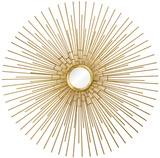 Cairo Sunburst Gold Mirror Wall Mirror