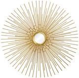 Cairo Sunburst Gold Mirror Wall Mirror
