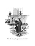 """""""It's the kind of bag you can dive into."""" - New Yorker Cartoon Premium Giclee Print by Helen E. Hokinson"""
