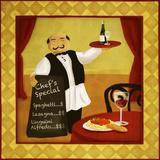Waiter I Plakat