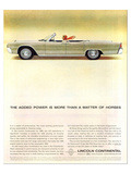 Lincoln 1963- Matter of Horses Poster