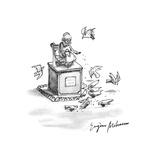 New Yorker Cartoon Premium Giclee Print by Eugène Mihaesco