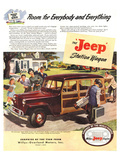 Jeep Station Wagon Room for … Posters