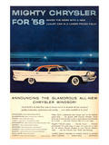 Mighty Chrysler for 58-Windsor Posters