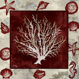 Marsala Coral II Posters by Elizabeth Medley