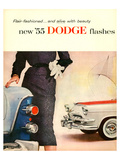 New '55 Dodge Flashes Posters