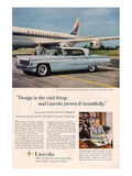 Lincoln 1959 Douglas: Design Print