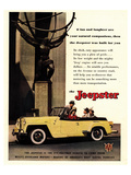 Jeepster - Willys Overland Pósters