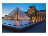 Louvre MuseumPyramid Paris Posters