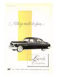 Lincoln 1951 Cosmopolitan Poster