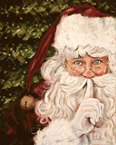 Secret Santa Kunstdruck von Patricia Quintero-Pinto