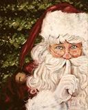 Secret Santa Poster by Patricia Quintero-Pinto