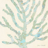 Coral Vision on Cream II Prints by Lanie Loreth