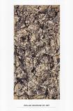 Catedral Póster por Jackson Pollock