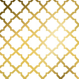 Gold Lattice I (gold foil) Prints by Jairo Rodriguez