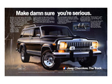 Jeep Cherokee - Make Damn Sure Posters