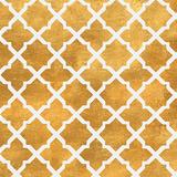 Gold Lattice II (gold foil) ポスター : ハイロ・ロドリゲス