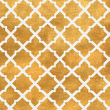 Gold Lattice II (gold foil) Poster by Jairo Rodriguez