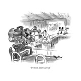 New Yorker Cartoon Premium Giclee Print by Lee Lorenz