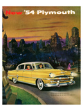 New '54 Plymouth Posters