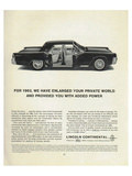 Lincoln 1963 - Added Power Poster