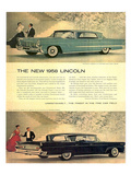 Lincoln 1958 - Unmistakably Posters