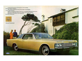 Lincoln 1968 Coupe Roof Line Posters