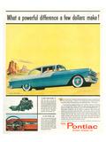 GM Pontiac '55 Stratostreak V8 Posters