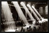New York, New York - Grand Central Station Posters by Hal Morey