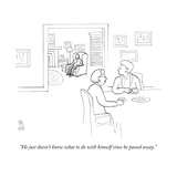 New Yorker Cartoon Premium Giclee Print by Paul Noth