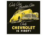 GM Only Chevrolet is First Prints