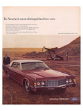 Lincoln 1969 It's America'S… Posters