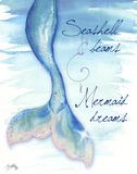 Mermaid Tail I Prints by Elizabeth Medley
