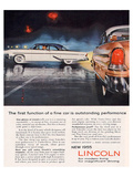 Lincoln 1955 Performance Affiche