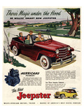Jeepster Magic Under the Hood Prints