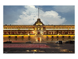 National Palace Mexico City  Prints