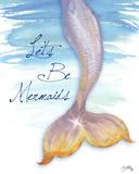 Mermaid Tail II Posters by Elizabeth Medley