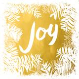 Gold Merry Joy I (gold foil) Prints