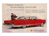 Lincoln 1956 - Daringly New Affiches