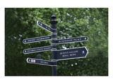 London City Street Signs Prints