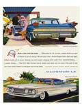 GM Oldsmobile- With the Leader Prints