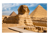 Great Sphinx & Gizeh Pyramids Posters