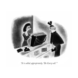 New Yorker Cartoon Premium Giclee Print by Richard Taylor