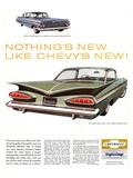 GM Chevy Bel Air 4-Door Sedan Poster