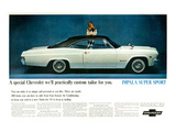 GM Chevy Impala Super Sport Posters