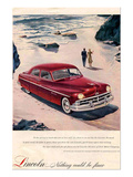 Lincoln 1950 - Beach Ad Prints