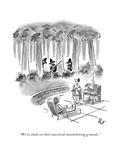 New Yorker Cartoon Premium Giclee Print by Frank Cotham