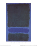 Untitled (Green, Blue, Green on Blue, 1968) Collectable Print by Mark Rothko